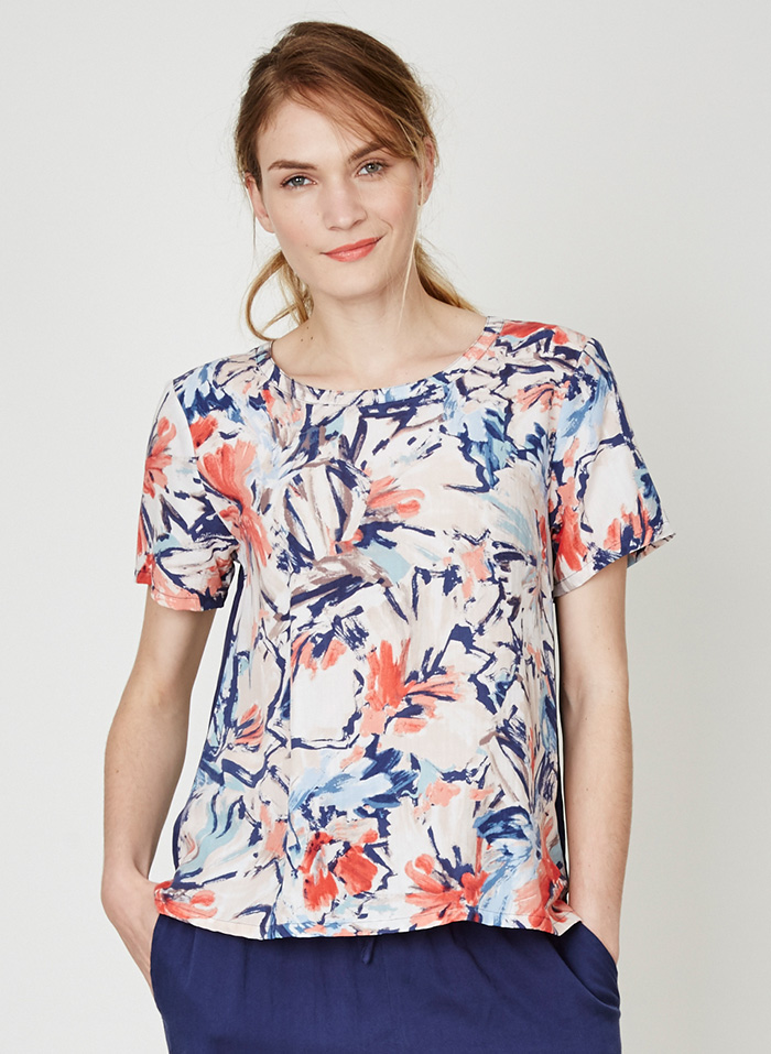Clemence Floral Top