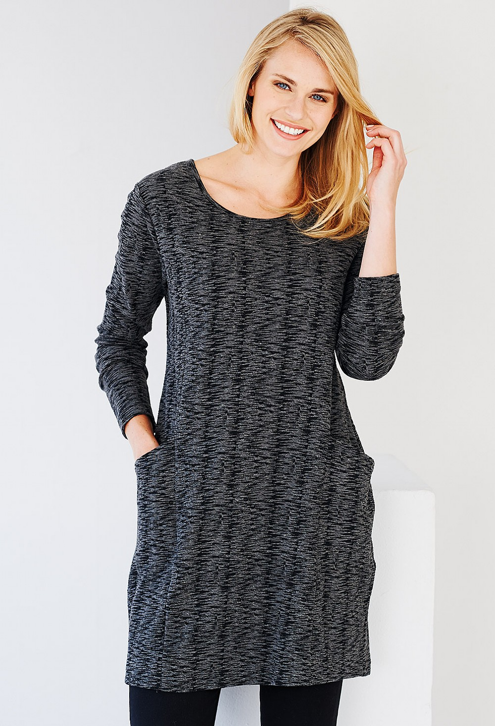 Valley Tunic - Charcoal