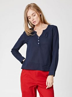 Bly Top - Navy