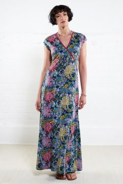 Wrap Maxi Dress - Sherbert