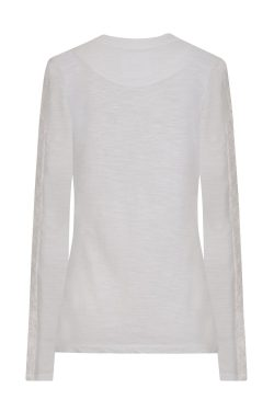 Salcombe Lace Top - White