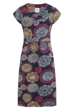 Doilies Print Dress - Multi
