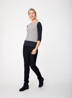 Quella Top - Dark Navy - Vegan