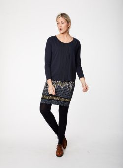 Keltha Top - Dark Navy - Vegan