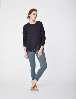 Aurelie Top - Navy - Vegan