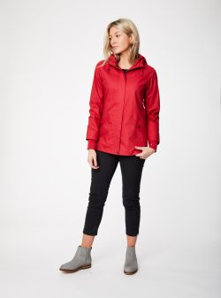 Illia Coat - Soft Red - Vegan
