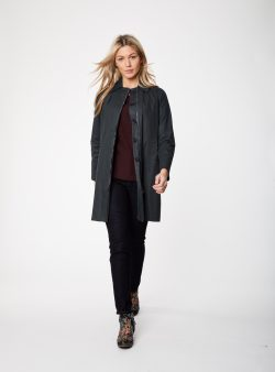 Adella Coat - Graphite - Vegan