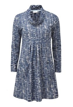 Rochelle Tunic - Airforce Blue