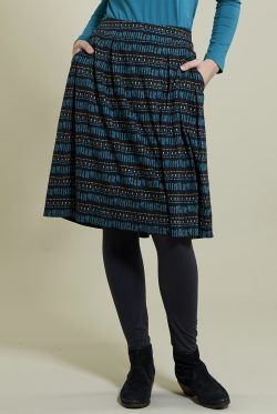 Pacific Pleated Pocket Skirt
