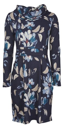 aa0b983a471 Dee Dress – Winter Magnolia in Navy
