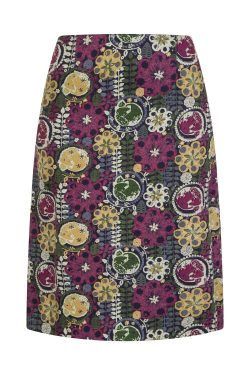 Blackbird in Hedgerow Reversible Skirt