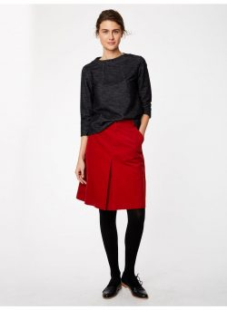 Rubina Skirt - Fox Red
