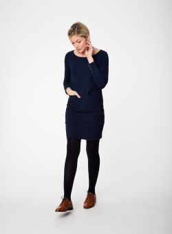 Laurel Dress - Navy
