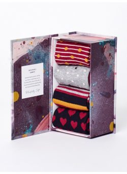Classic Sock Box - Assorted Designs