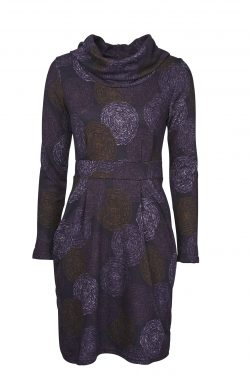Dee Dress - Nordic Circles - Purple