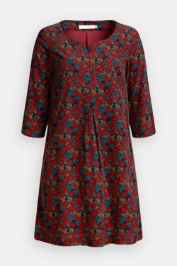 Kestle Barton Dress - Cabin Floral Conker