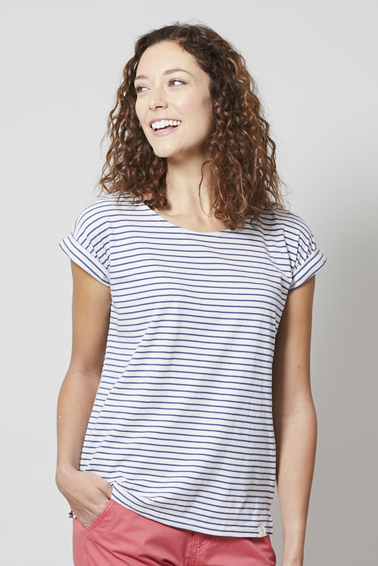 90baff4dfdb Lily   Me Weekend Tee all over Stripe